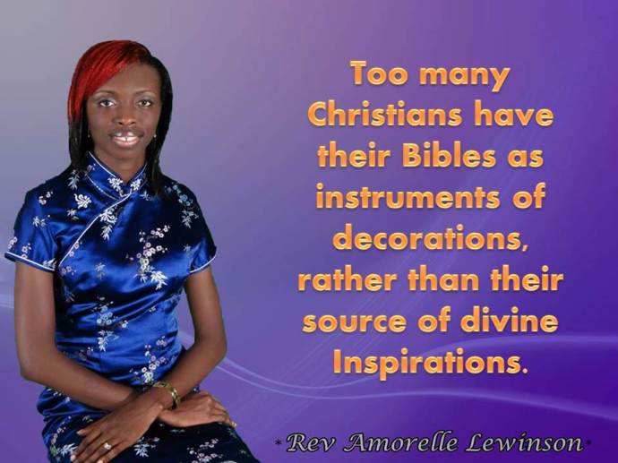 bible decorations